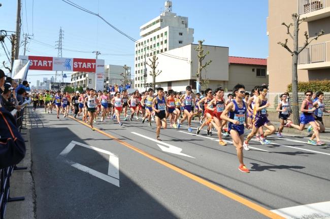 昨年のかすみがうらマラソンの様子(写真提供:土浦市)