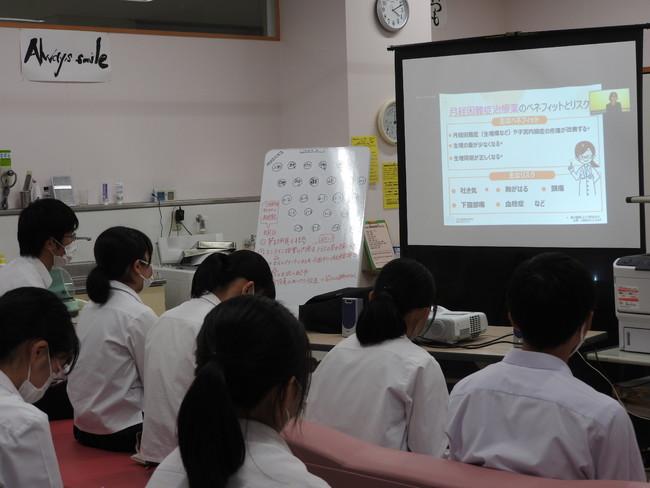 2020年7月7日「かがやきスクール」山口県立小野田高等学校(山口県)オンラインセミナー