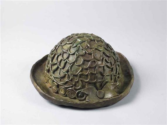 帽子(ブロンズ) /草間彌生