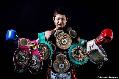 藤岡奈穂子選手 (ボクシング世界5階級制覇チャンピオン)