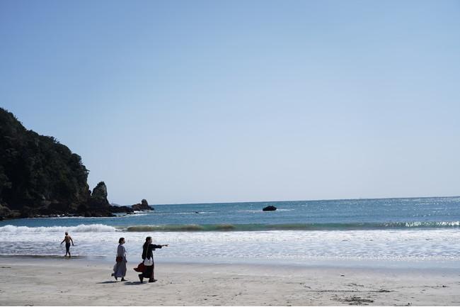 自転車で15分で行ける海「弓ヶ浜」