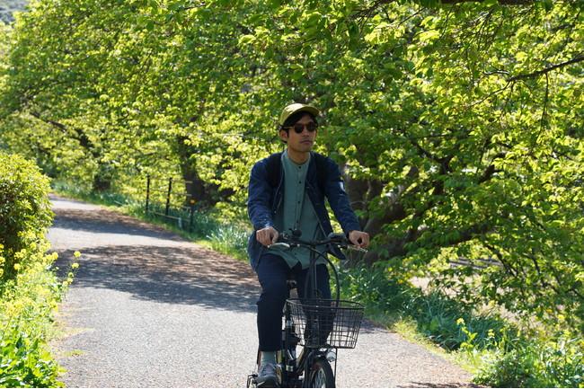 電動自転車のレンタルサービスもあります