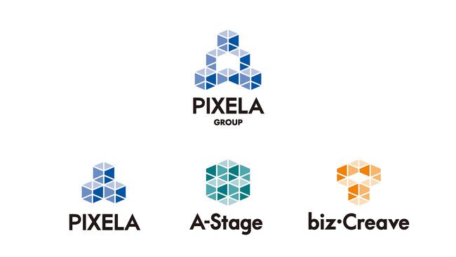 ピクセラグループ ロゴ
