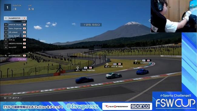 GRSupraコーナーと富士山