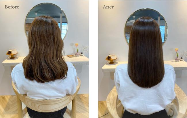 [施術例]素髪の美しさを引き出し悩みのない本来の美しい髪へ【CIECA.素髪復元システム】