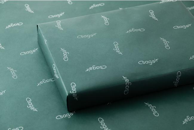 sagairオリジナルの包装でお届けします。