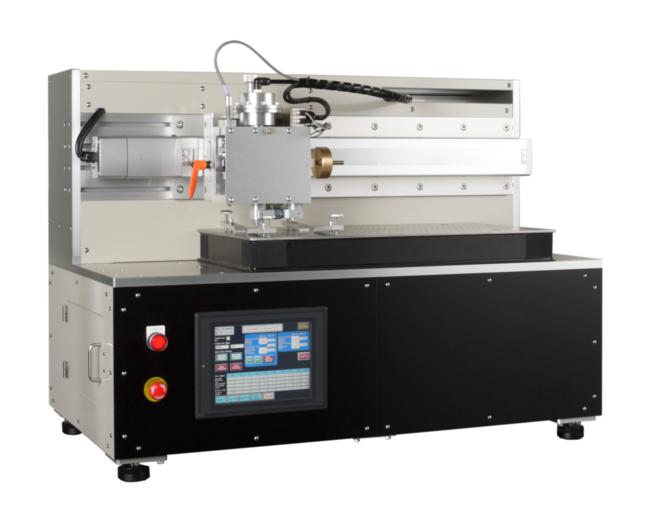 KK01 スクラッチテスター ASTM:D7027-05/ISO:19252 ※本機はカトーテックがU.S.Surface Machine Systems,LLC.(Patent No.7302831) より ライセンスを受けて製造販売しています。