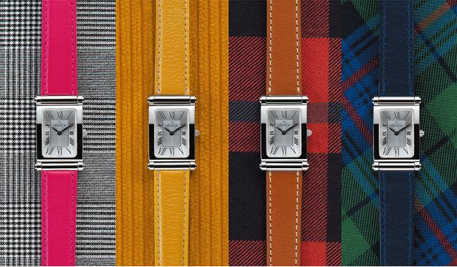 ファッションやシーンに合わせてストラップの付け替えを楽しむことができる時計アンタレス