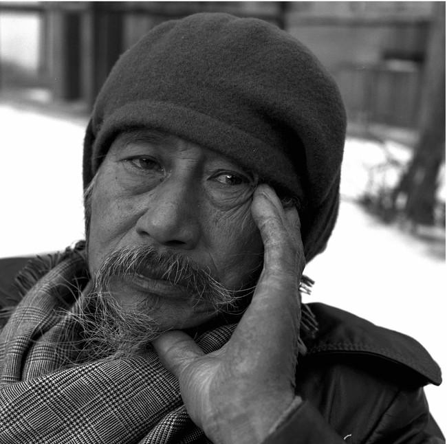 佐藤哲郎撮影|1990年代のジミー・ミリキタニ