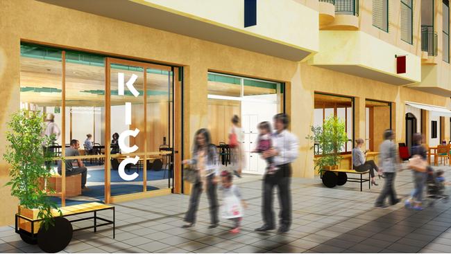 神戸国際コミュニティセンター(KICC)外観イメージ