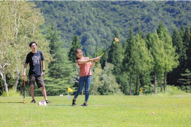 舞子スノーリゾート「グラウンド・ゴルフ」