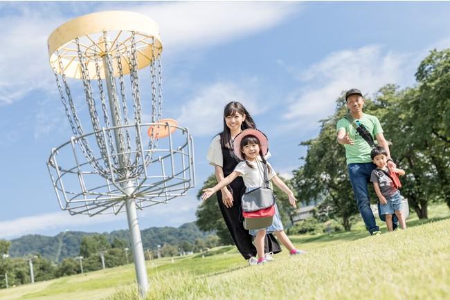 舞子スノーリゾート「ディスクゴルフ」