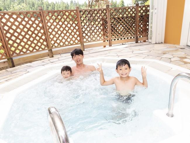 舞子グランピング宿泊者は無料で利用できる舞子温泉「飯士の湯」