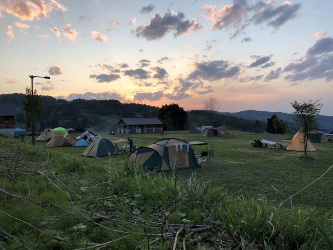 キューピットバレイキャンプサイト