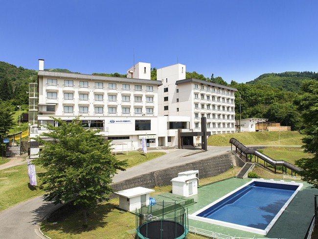 むいか温泉ホテル(外観)