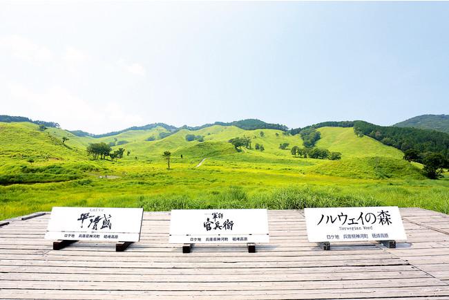 映画のロケ地としても有名な砥峰高原