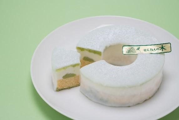 「とろなまずんだ豆乳」バウム 価格:1,980円(税込)
