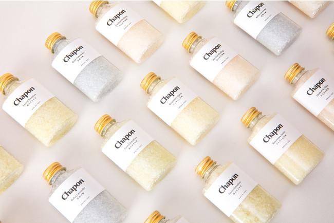 香りでととのうオーダーメイド入浴剤「Chapon(チャポン)」