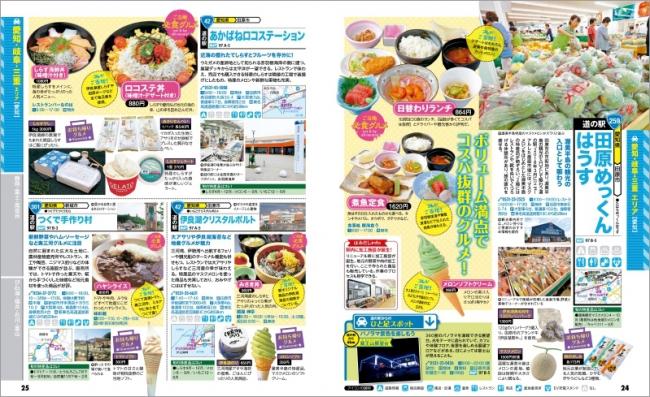 「名古屋・東海」道の駅紹介ページ例