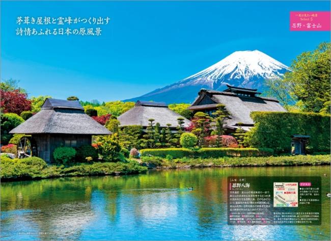 忍野×富士山