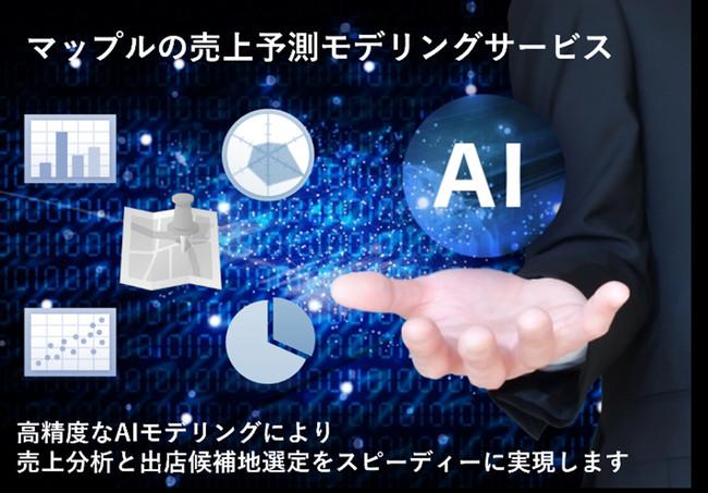 <『売上予測AIモデリング サービス』イメージ>