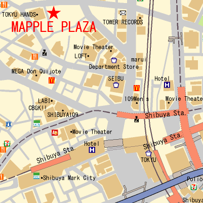 案内地図サンプル3