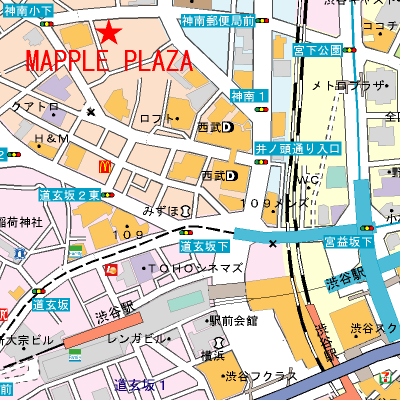 案内地図サンプル1