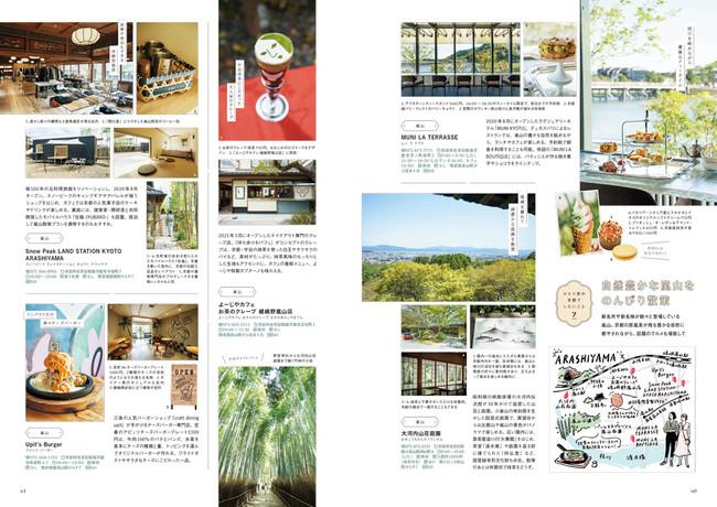<「ひとり旅の京都でしたいこと」ページ例3>