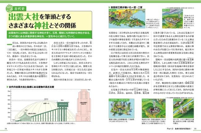<『島根のトリセツ』歴史編のページ例1>