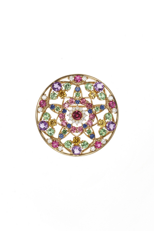 Kaleidoscope Brooch by KAJITA