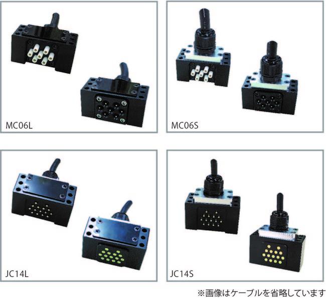 小型サーボ機器対応コンタクトブロック(動力用 信号用)