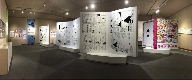 展示風景 嘉麻市立織田廣樹美術館(2019)