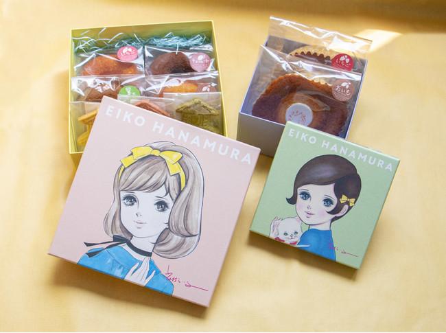 えい子(ハート)さいたま愛のクッキー&ドーナツ/2,400円  えい子(ハート)さいたま愛のマドレーヌセット/1,300円