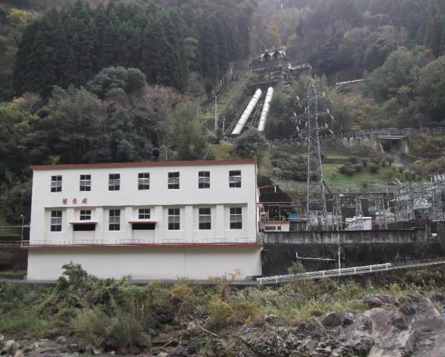 水ヶ崎発電所全景
