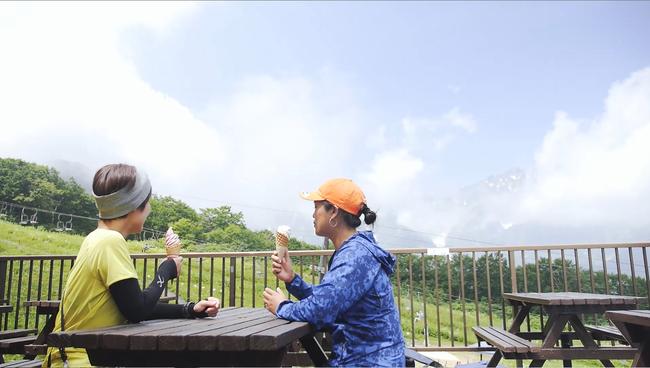 高山植物園を眼下に北アルプスも望める展望レストラン「あるぷす360」