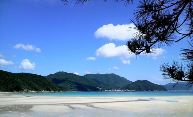 美しい蛤浜海水浴場