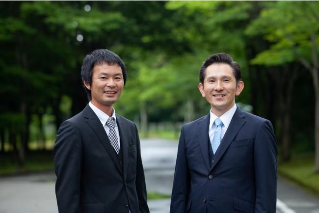 (左)車両管理:坂中直樹/(右)代表取締役:田村昌士