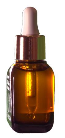 美容液成分とオイルの2層