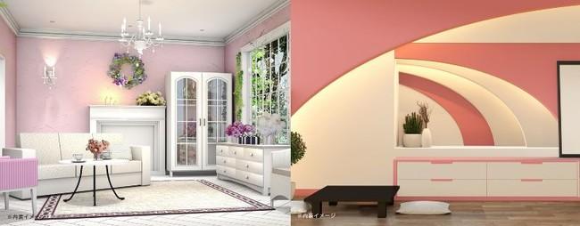 ロマンティックフレンチ 客室内装イメージ