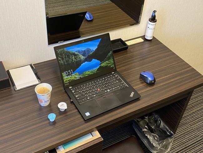 ホテルウィングインターナショナル新宿_テレワーク用客室1.