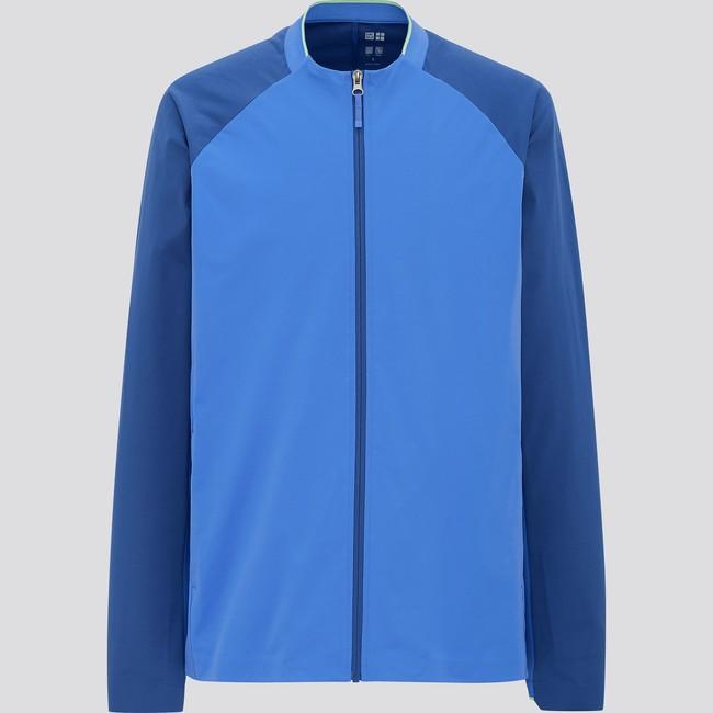 ウルトラストレッチアクティブジャケット*  4,990円 ストレッチ性の高い素材や、 身体の動きやすさを追求した設計