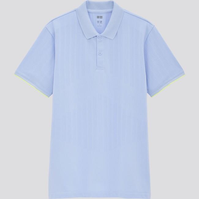 ドライEXポロシャツ*   2,990円 吸汗速乾と抗菌防臭機能。 発汗しやすい部分の通気性を向上