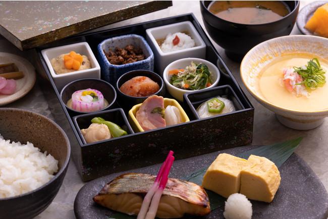 京都の食材にこだわった和朝食