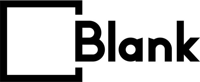 「Blank」施設・ブランドロゴマーク