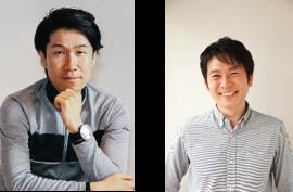 <レースイベント解説>栗村修氏、別府始氏(写真左から)