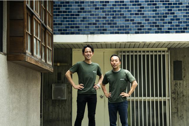 ヤモリ創業者の二人 (左)藤澤社長 (右)廣瀬取締役
