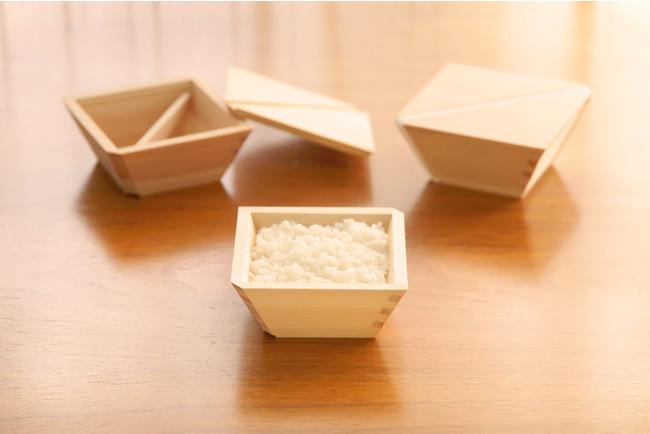 木製の冷凍ご飯容器「COBITSU」
