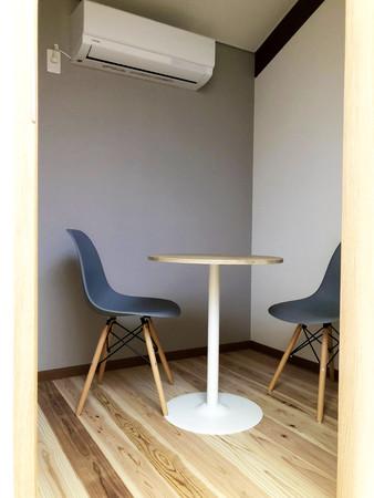 2,3人でオンライン受講やweb会議ができる小部屋