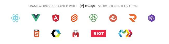 Storybook統合でサポートされる主なフレームワーク