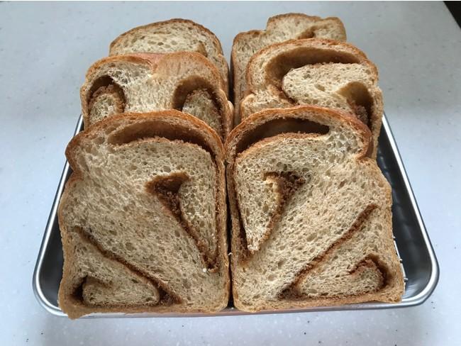 黒糖きなこ食パン